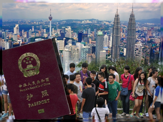 Visa exemption for Chinese tourists extended to Dec 31, 2017